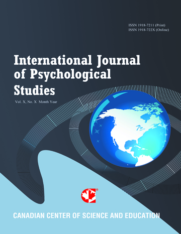 Home | International Journal of Psychological Studies | CCSE