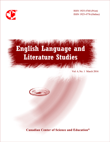 Home | English Language and Literature Studies | CCSE